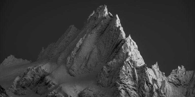Photo montagne - Aiguille du midi-Aiguille de Chamonix-Mont Blanc - Aiguille de Blaitière