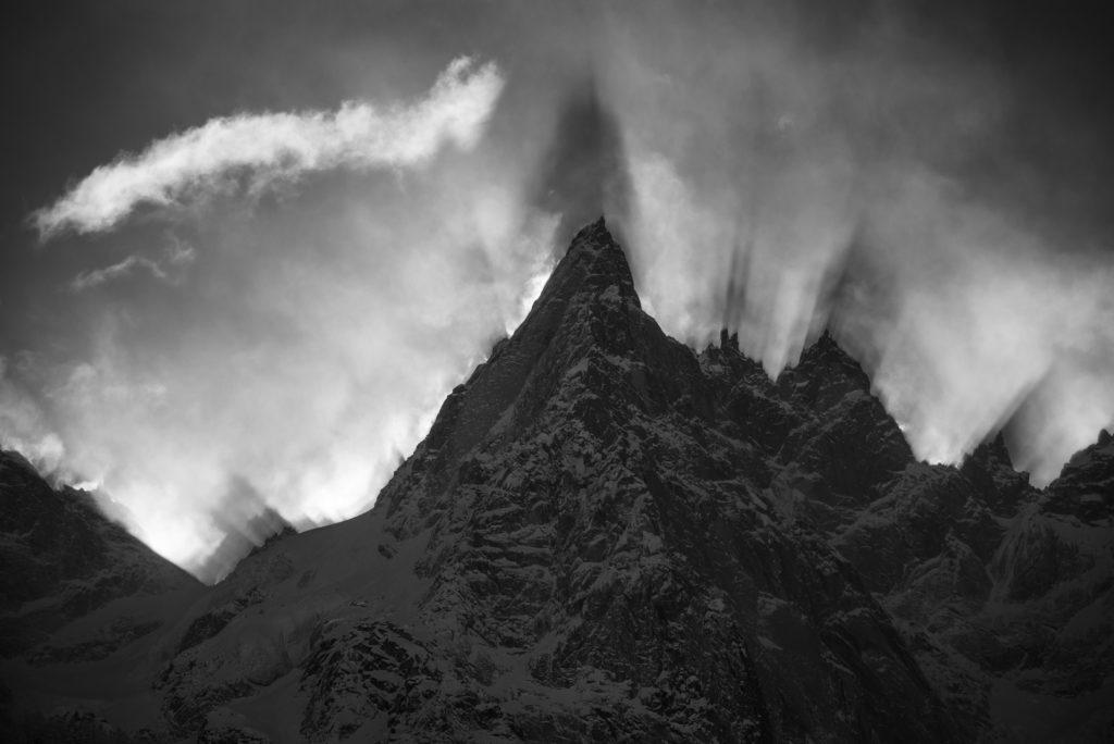 Image montagne - Aiguille du midi-Chamonix-Mont Blanc-Aiguille de Blaitière - Aiguille des Ciseaux - Aiguille du Fou