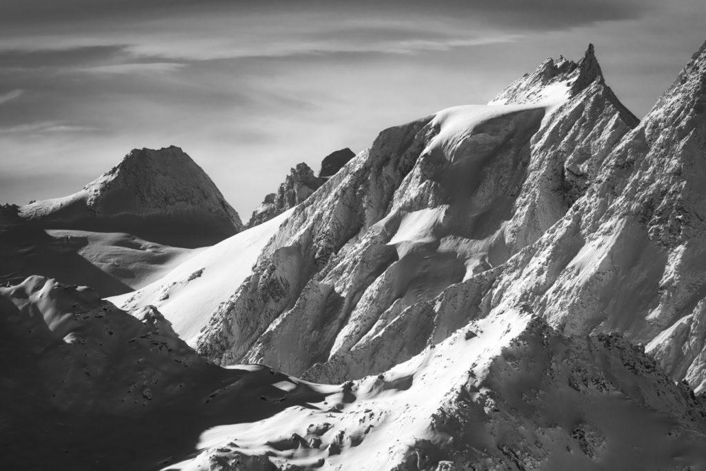 Val d'hérens - photo alpinisme montagne Aiguille de la Tsa