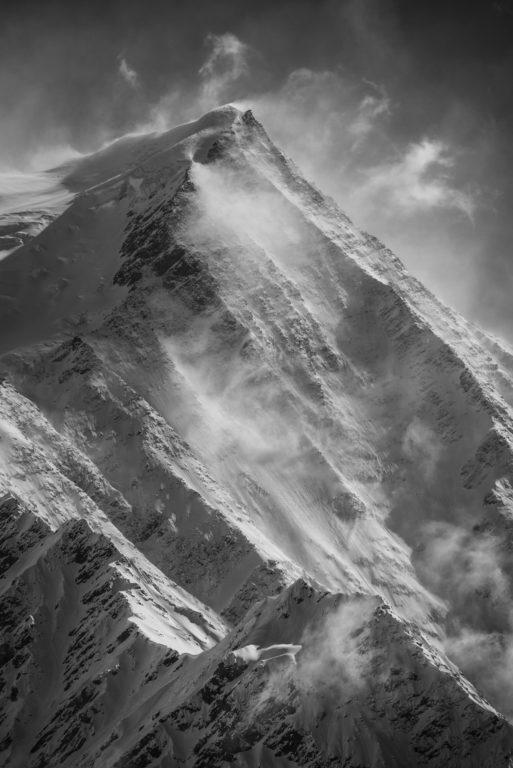 Mont Blanc - photo paysage montagne - Aiguille du Gouter