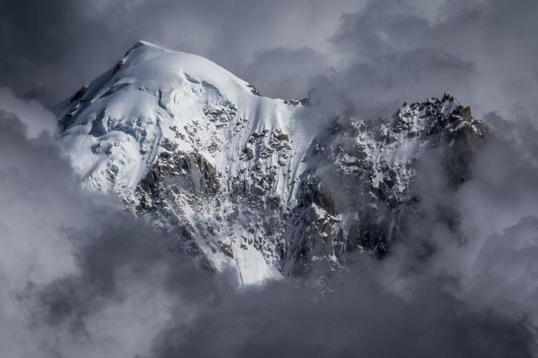 Photo montagne massif du Mont Blanc - Aiguille Verte