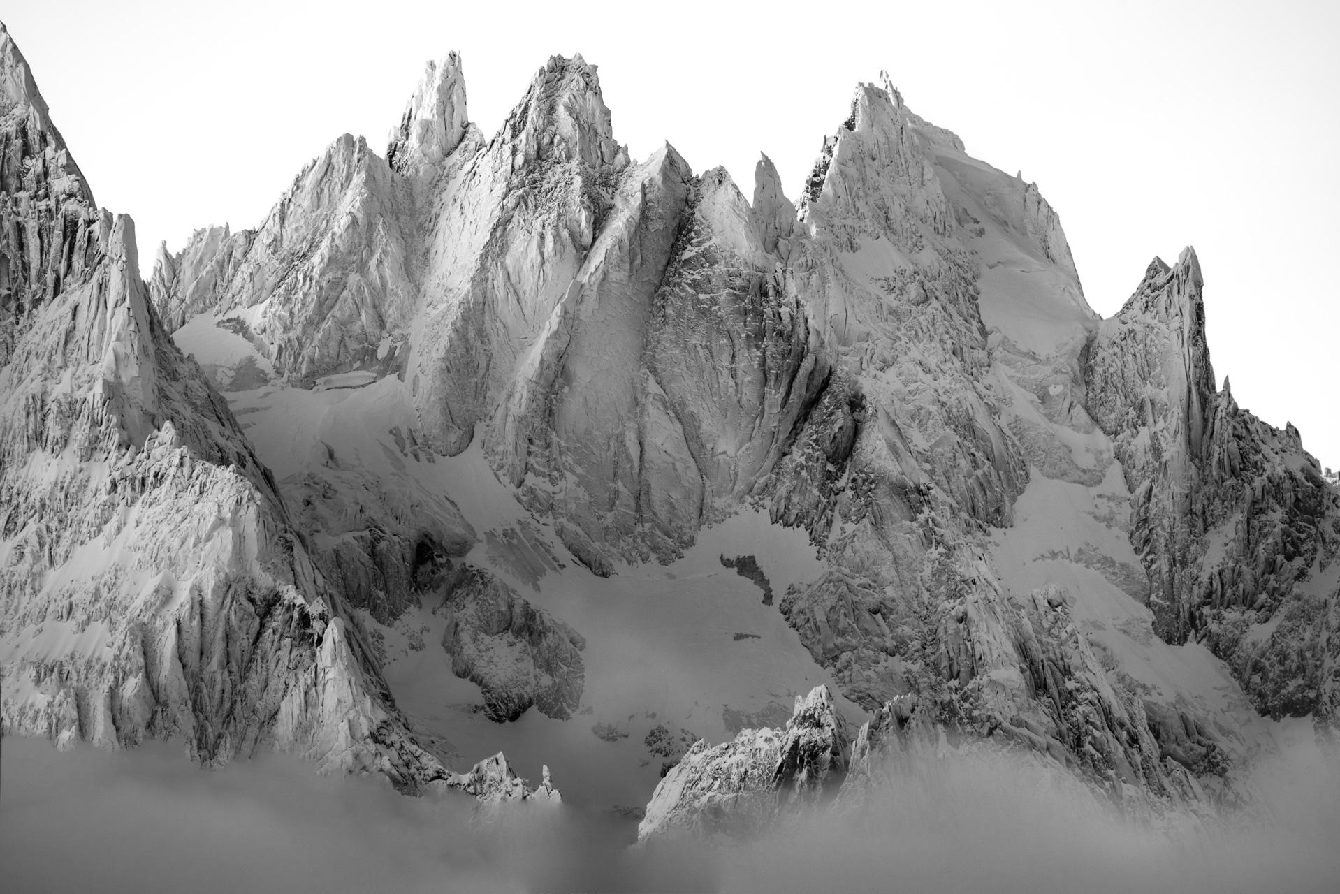 Photo Mont Blanc - Aiguille de Chamonix