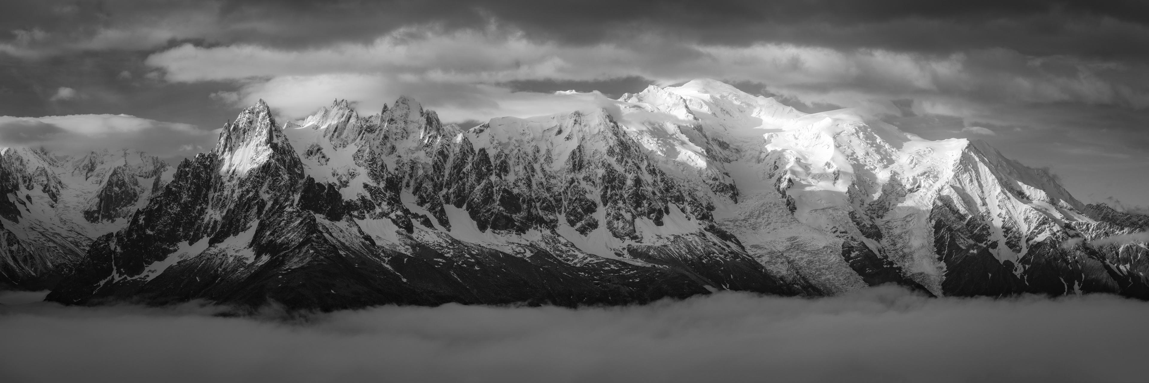 Massif Mont-Blanc-Chamonix - Aiguille de Chamonix