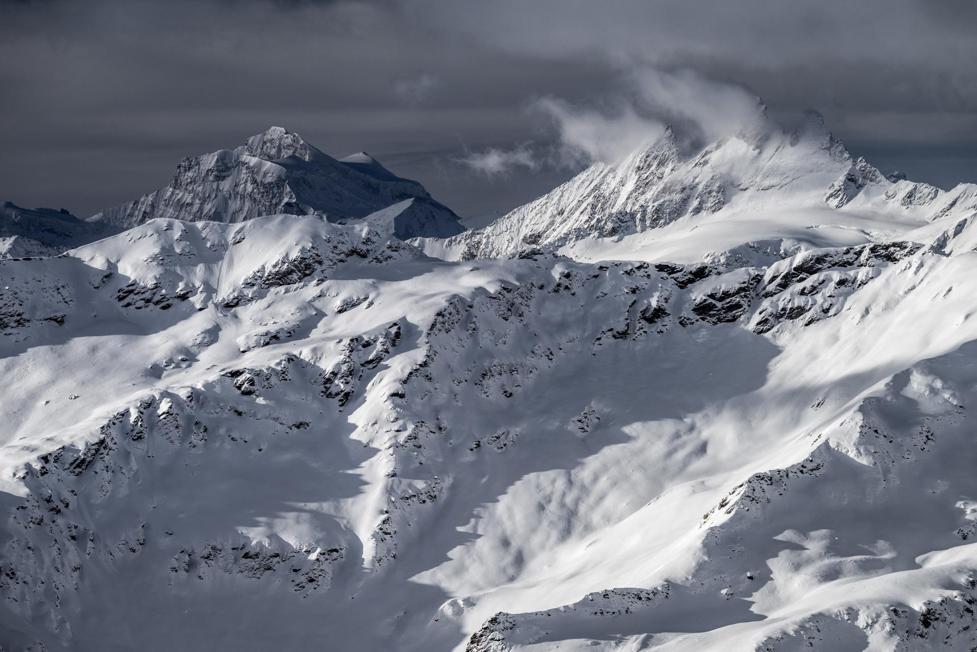 image montagne Val d'hérens - Aiguilles Rouges d'Arolla