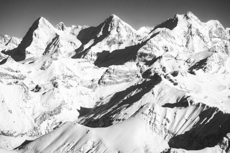 Canton de berne switzerland - image de Sommet de montagne dans les Alpes - Massif montagneux eiger, jungfrau, monch