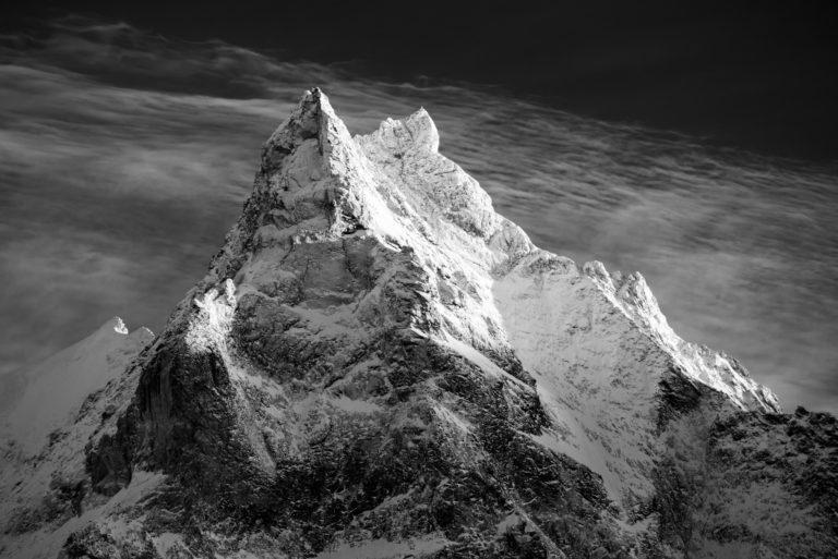 Photo Val d'Anniviers - image montagne Besso vue de Zinal