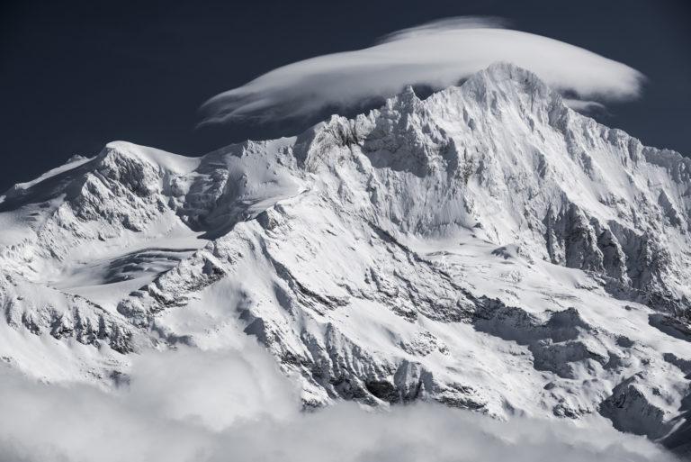 Photo montagne Val d'Anniviers - Bishorn - Grand Gendarme -Weisshorn