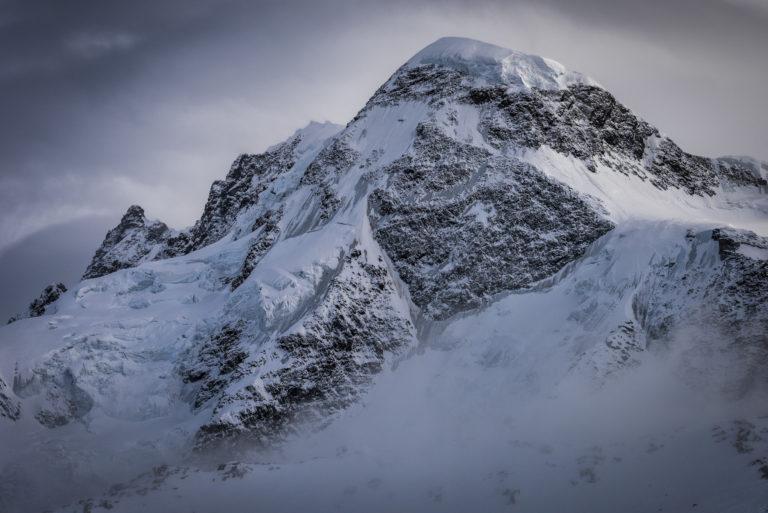 Photo montagne Valais suisse - Vallée de Zermatt- Massif du Breithorn