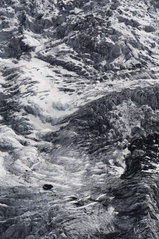 Photo Glacier dans les Alpes sous le Breithorn à Zermatt