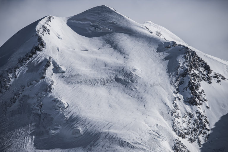 Image montagne hiver Valais Zermatt - Castor