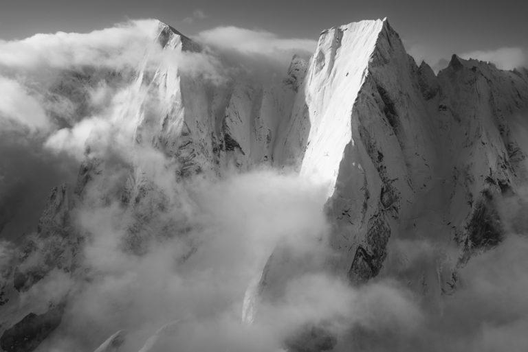 Cengalo - Badile - Davos Alpes - image paysage montagne