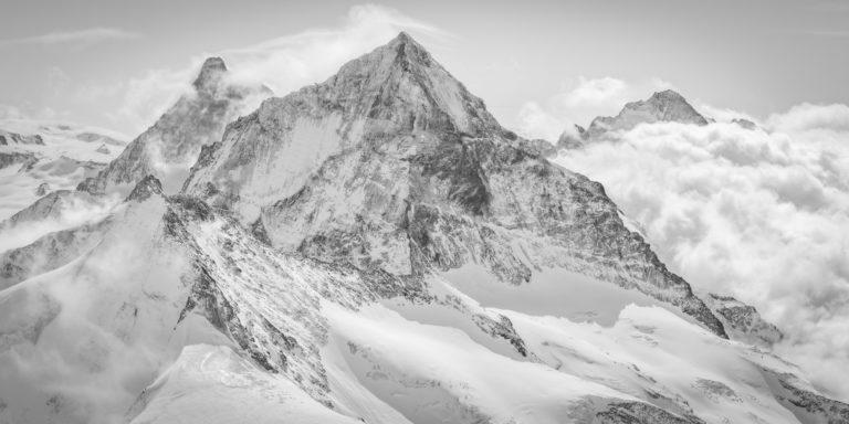 panorama montagne Dent Blanche Cervin - Tableau panoramique montagne Dent d'Hérens