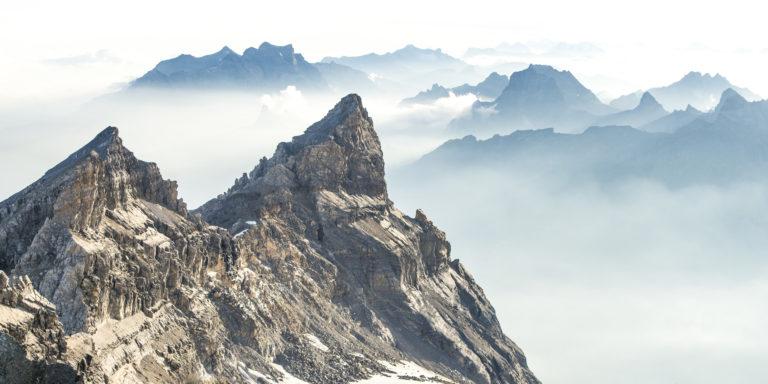 Alpes Bernoises - Dents du midi - Photo montagne - Cime de l'Est