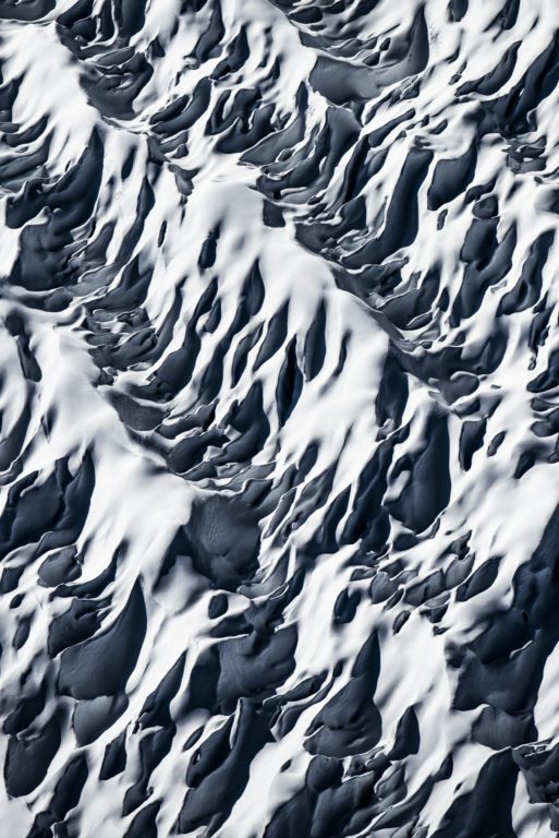 Photo crevasses des glaciers des Alpes - Photo paysage montagne - glacier d'Aletsch