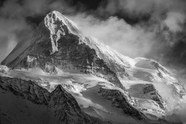 Photo montagne Val d'Hérens - Photos alpes suisses et françaises - Dent Blanche