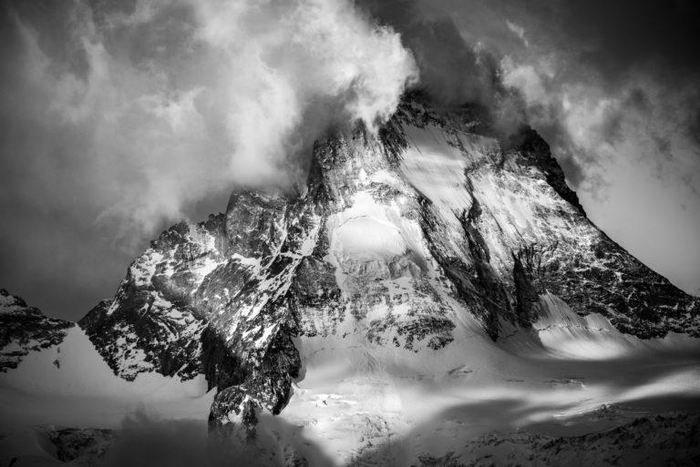 Val d'Anniviers - photo montagne Dent blanche Valais Alpes -