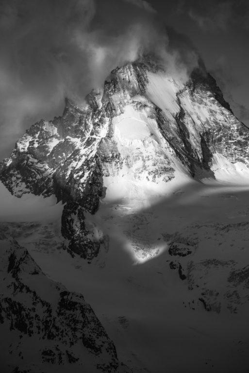 Dent blanche haute montagne Alpes - Val d'Anniviers