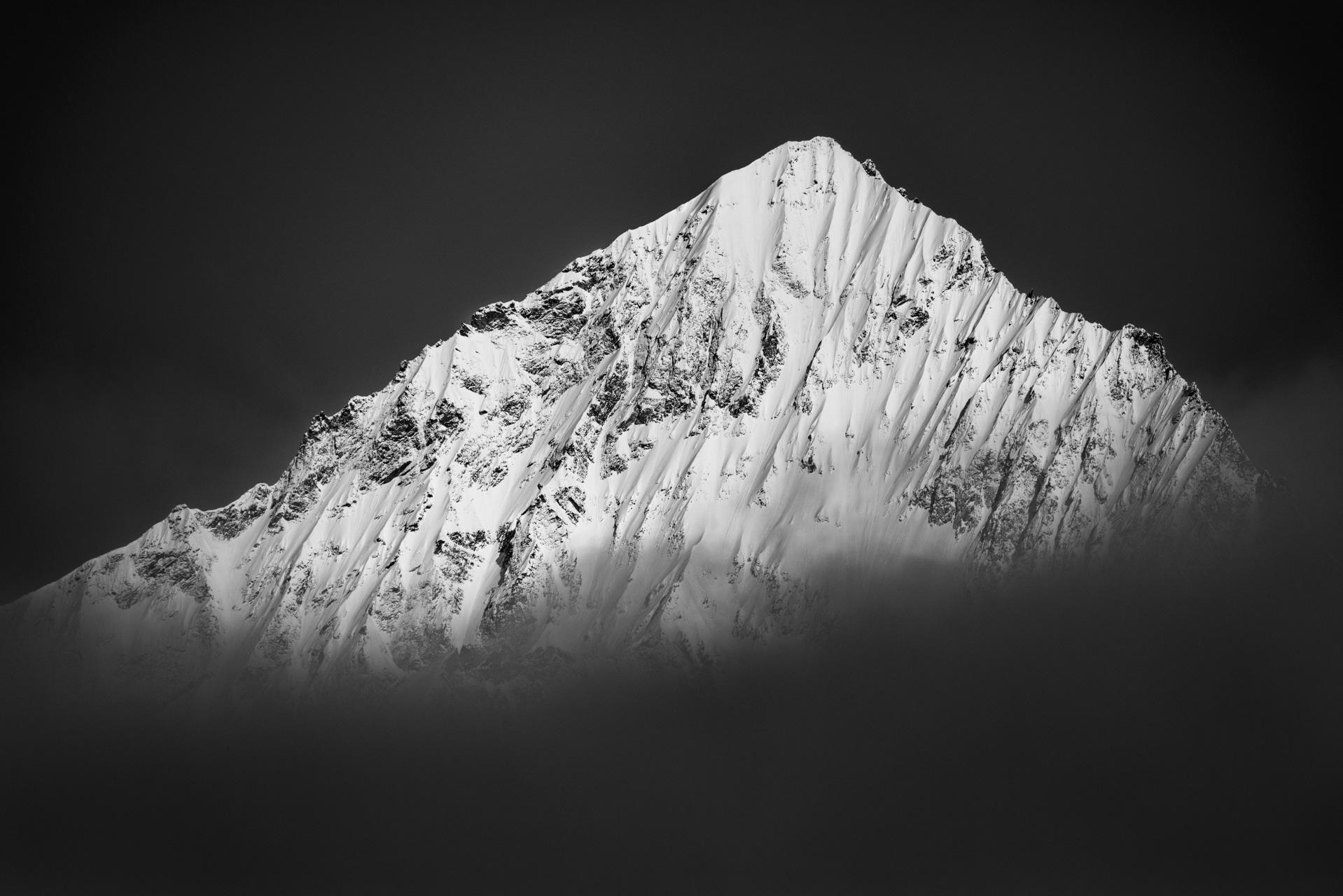Image montagne Valais suisse - les dents blanches alpes Zermatt
