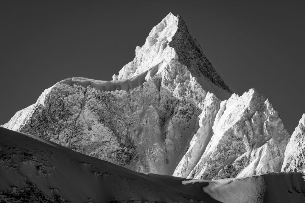 Val d hérens - Dent d'Hérens - Photo montagne Vue du Theodulpass