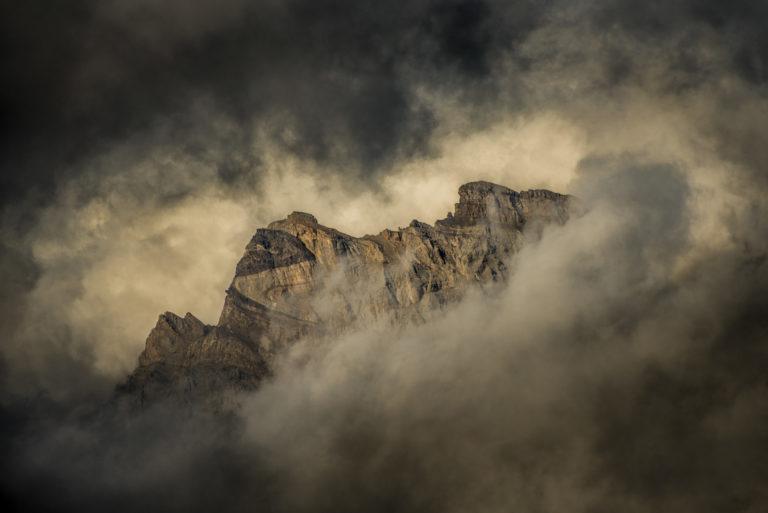 Photo paysage de montagne Suisse - Dents de Morcles