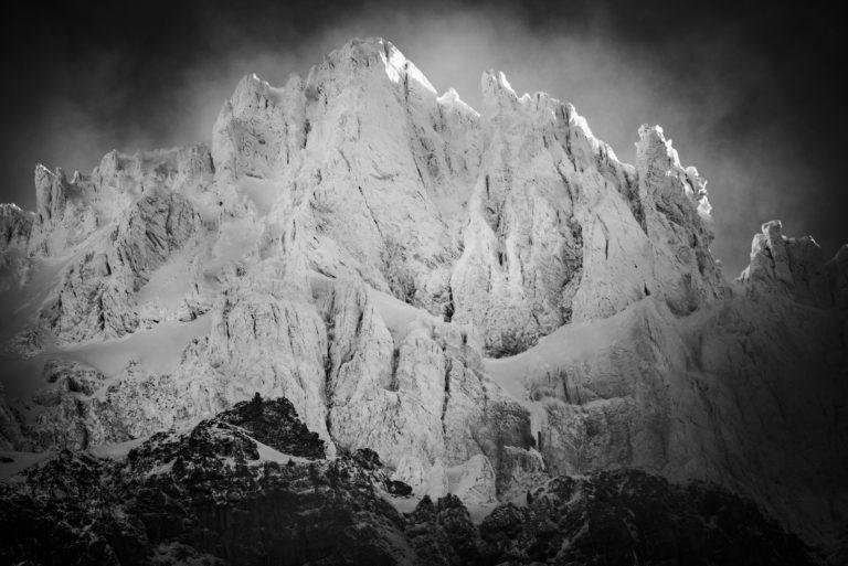 Alpes Bernoises - Montagnes des Dents de Morcles