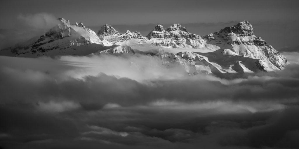 Dents du midi - Photo dent du midi - Image montagne
