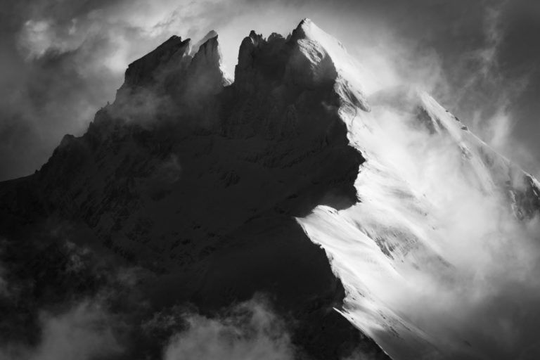 Les dents du midi - Photo dent du midi - Image de montagne