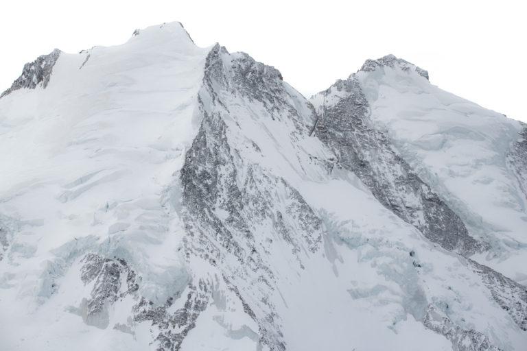 Dom des Mischabels de Saas Fee - Sommets des alpes - Taschhorn