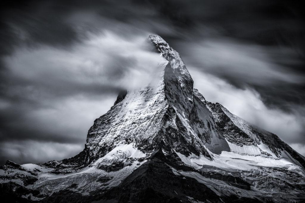 Image Vallée de Zermatt Valais Suisse - Matterhorn - Frozen peak