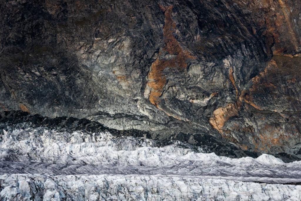 Glace des Alpes - Glacier du Gorner à Zermatt