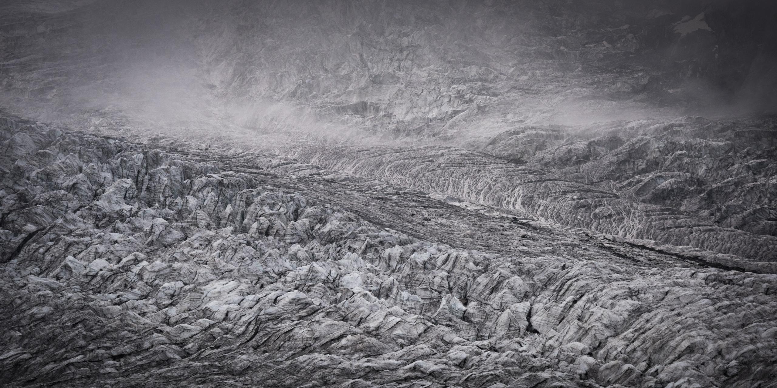 Photo glacier des deux alpes - photo montagne neige