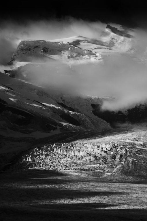 Grand combin - val de Bagnes - Fotos von Berglandschaften - Fotos von Bergen