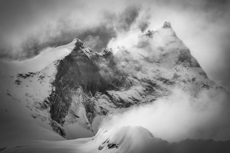 Photo de montagne Weisshorn - Grand gendarme - val d'Anniviers