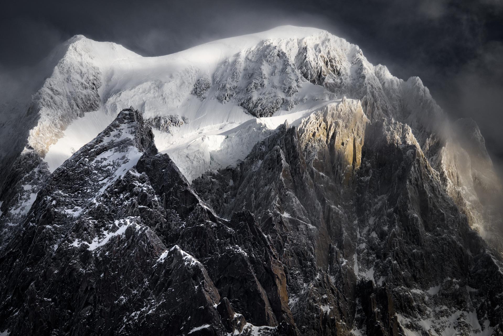 Massifs du Mont Blanc - Photo de neige en montagne