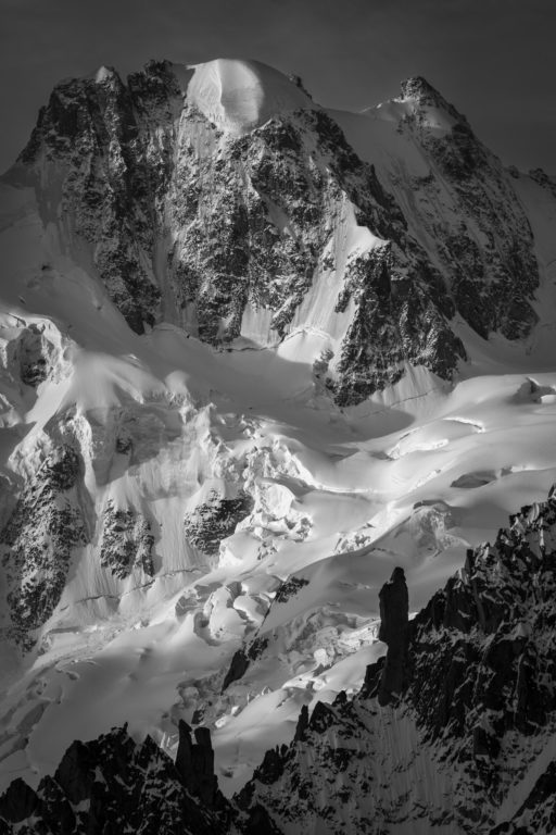 Massifs du Mont blanc - Photo Le guardien - Calotte Rochefort