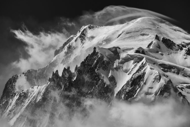Massif du mont blanc Alpes - photo et image montagne - mont blanc images