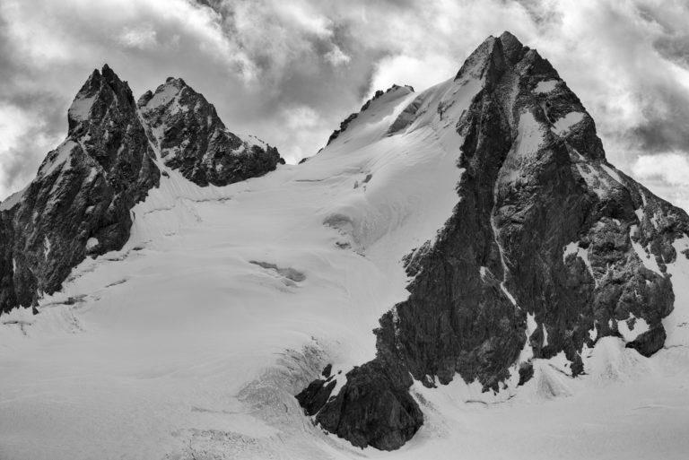 Val d'hérens - Image montagne Val d'hérens - L'évèque