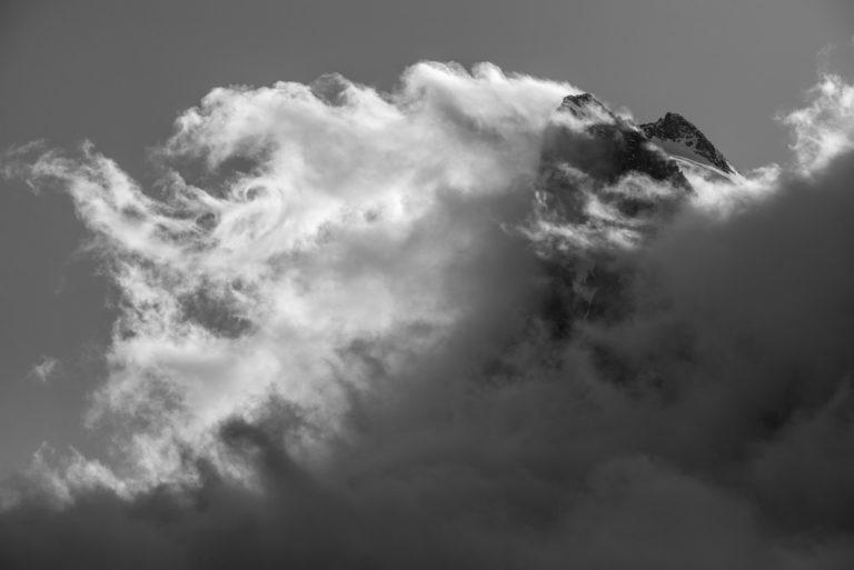 Val d'hérens - Photo montagne neige de l'Evèque