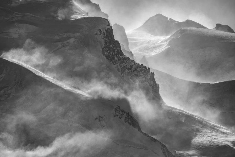 Montagne image Vallée Zermatt- Ludwigshohe - Corno Nero