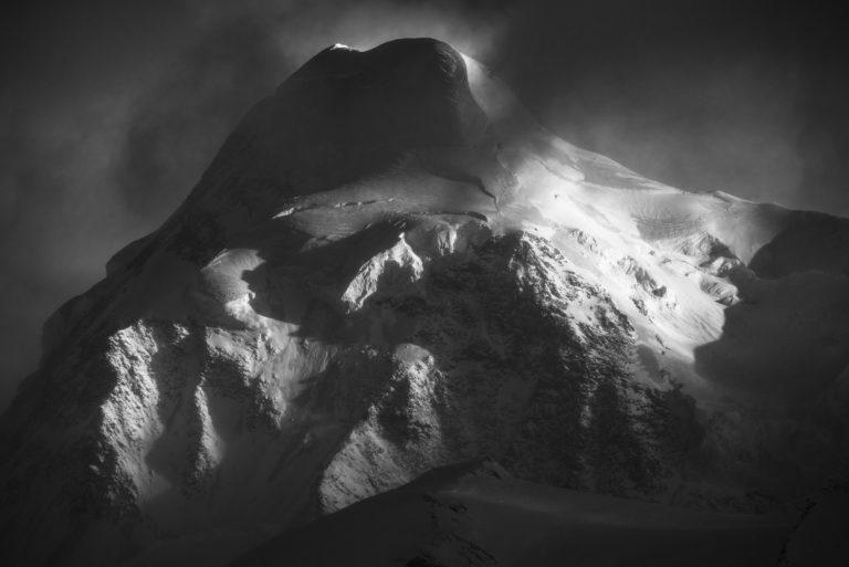 Photo haute montagne - Vallée de Zermatt- Lyskamm