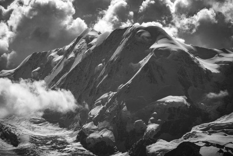 Photo paysage montagne Vallée de Zermatt Valais Suisse - Lyskamm