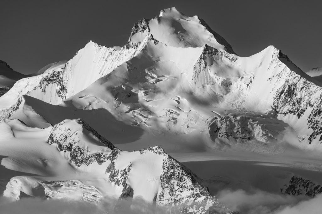 Photo montagne Valais Suisse - Vallée de Saas-Fee - Massif des Mischabels