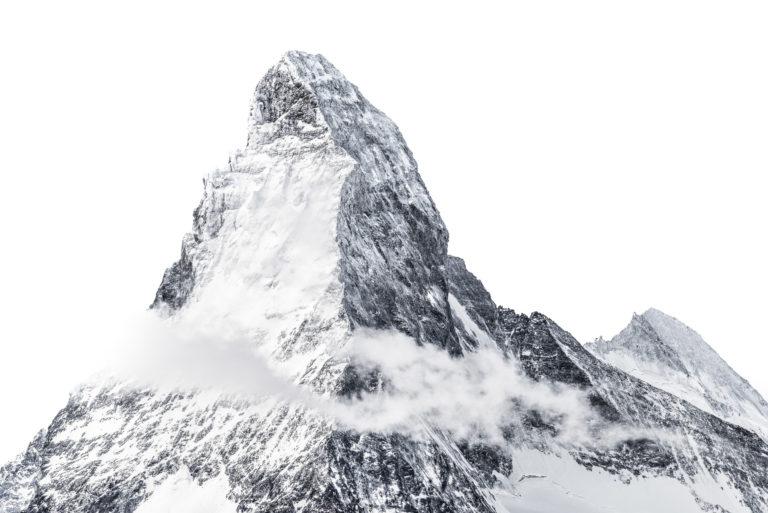 Mont Cervin Matterhorn - Dent d'Hérens vu du sommet du Rothorn
