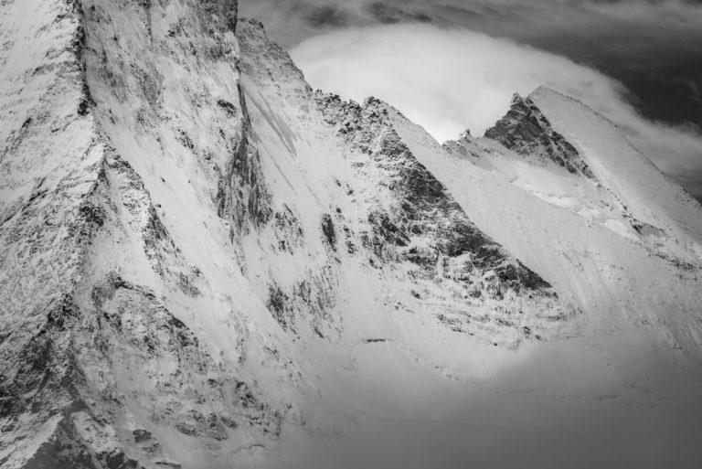 Val d hérens - Dent d'Hérens - photo Matterhorn de Zermatt