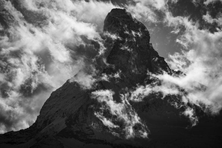 Image Cervin - Image montagne - Matterhorn photos vu du Matterall