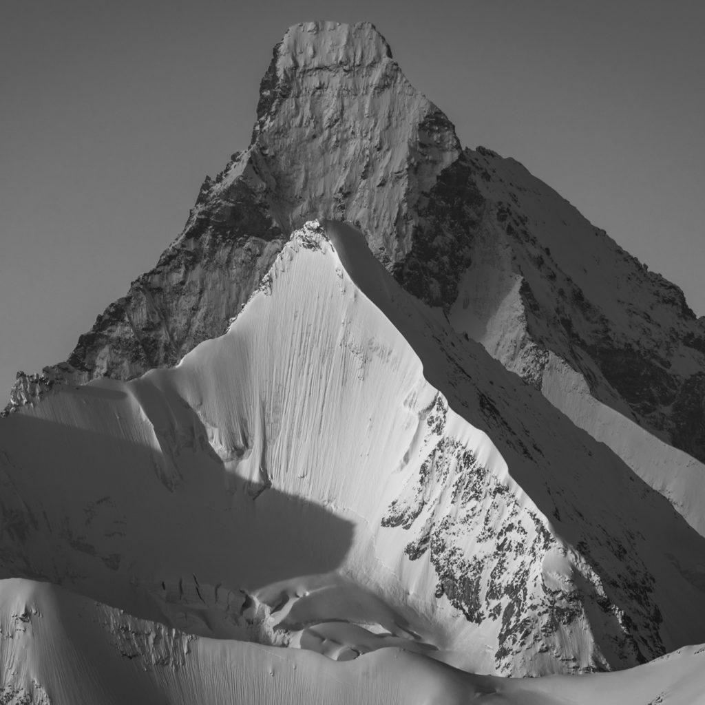 Val d'Anniviers - Photo de montagne en hiver