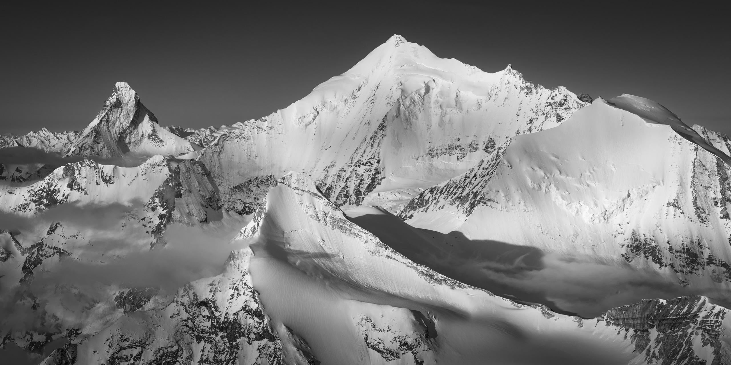 Weisshorn - Alpes suisses sommets - Photos de montagne Crans Montana