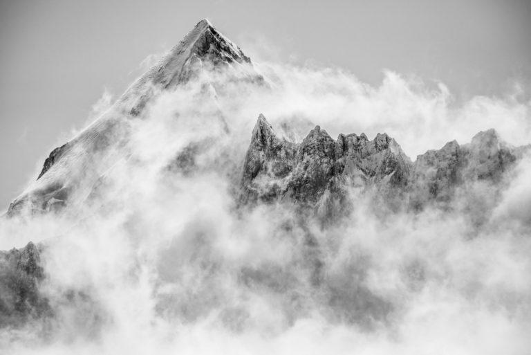 image de mont blanc- Mont Dolent