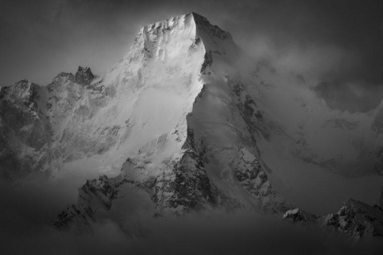 Photo Val de bagne - Verbier - Valais - Suisse - Mont Dolent