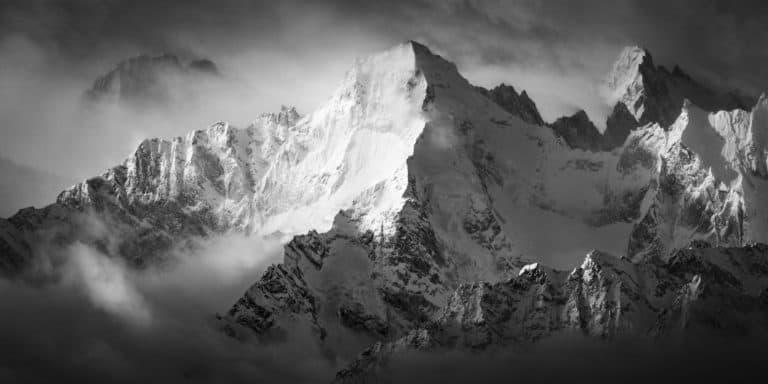 Image montagne Val de bagnes suisse -